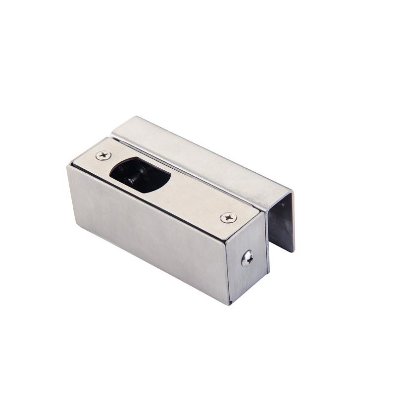 9005电插锁玻璃门不锈钢U夹